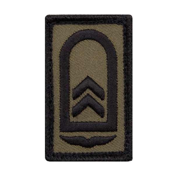 Oberfeldwebel Luftwaffe Mini Dienstgradabzeichen Patch
