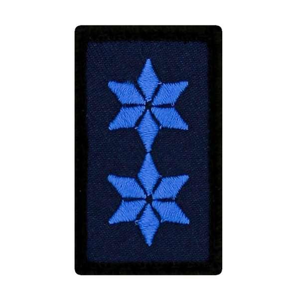 Polizeimeister Mini Dienstgradabzeichen Patch (PM)