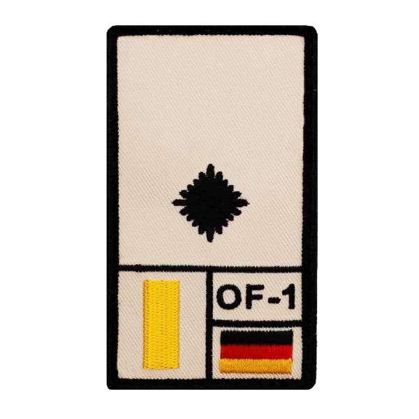 Leutnant Rank Patch