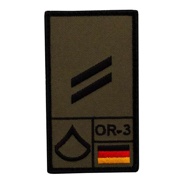 Obergefreiter Rank Patch
