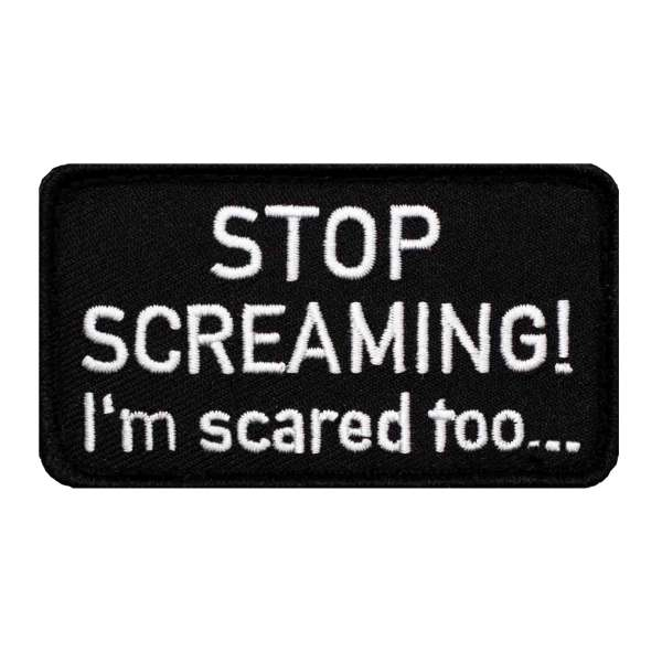 Stop Screaming Patch