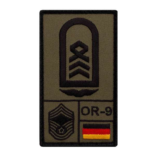 Oberstabsfeldwebel Luftwaffe Rank Patch