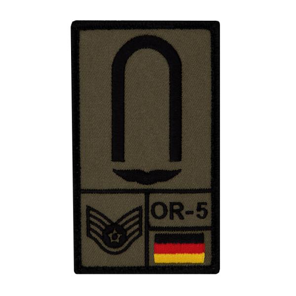 Unteroffizier Luftwaffe Rank Patch