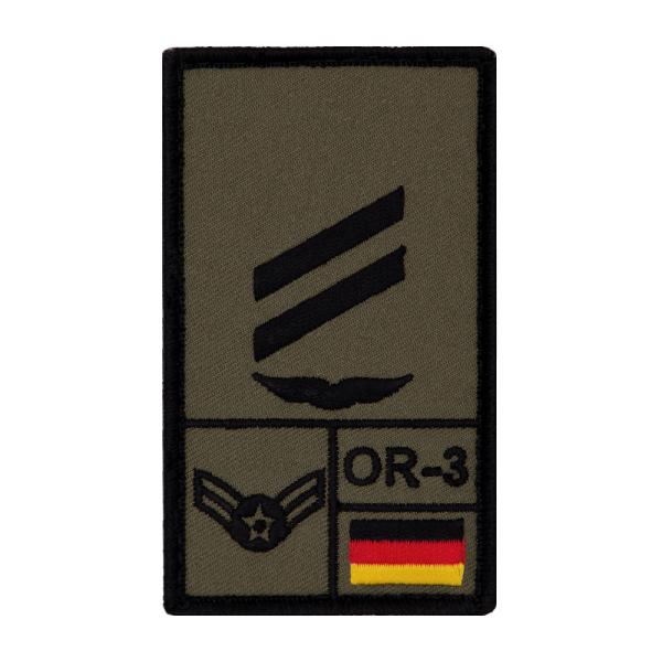 Obergefreiter Luftwaffe Rank Patch