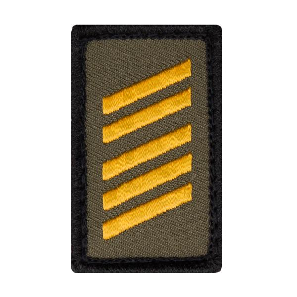 Oberstabsgefreiter Marine Mini Dienstgradabzeichen Patch