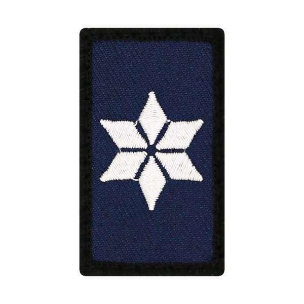 Polizeikommissar Mini Dienstgradabzeichen Patch (PK)