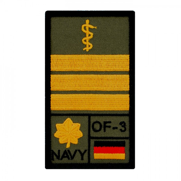 Oberstabsarzt Marine Rank Patch