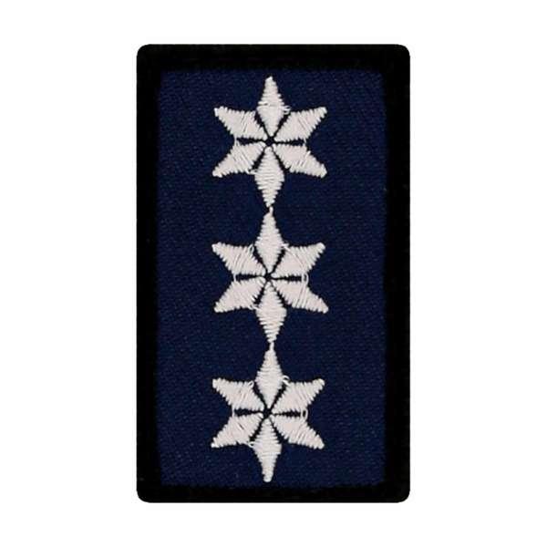 Polizeihauptkommissar A11 Mini Dienstgradabzeichen Patch (PHK)
