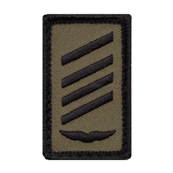 Stabsgefreiter Luftwaffe Mini Dienstgradabzeichen Patch