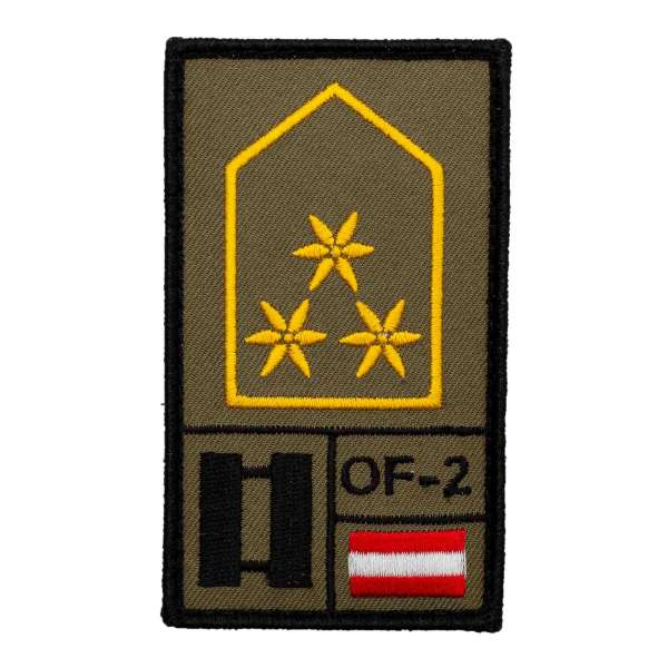 Hauptmann Bundesheer Rank Patch