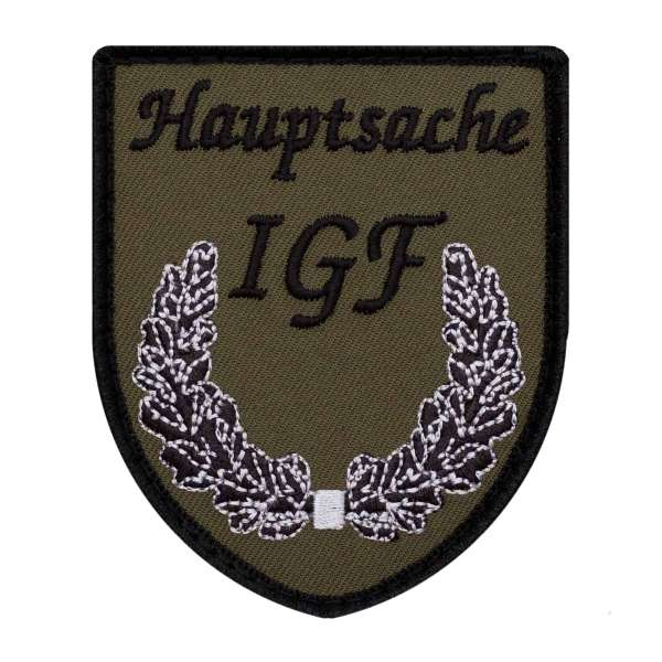 Hauptsache IGF Patch