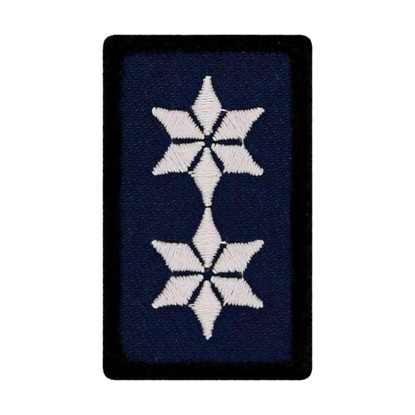 Polizeioberkommissar Mini Dienstgradabzeichen Patch (POK)