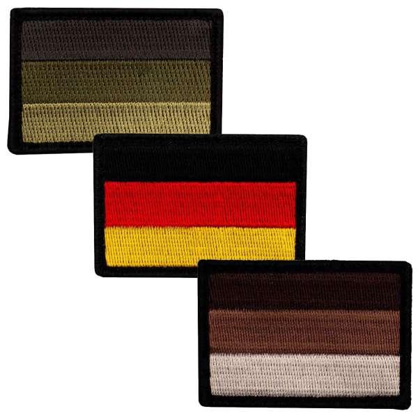 Deutschland Patch Bundle (3 Farben)