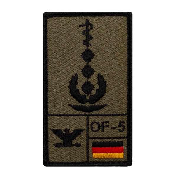 Oberstarzt Luftwaffe Rank Patch