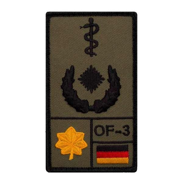 Oberstabsarzt Rank Patch