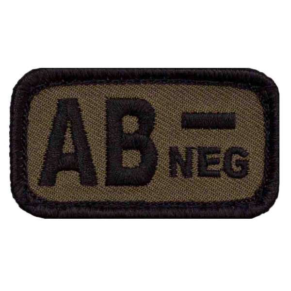 Blutgruppe AB- Patch