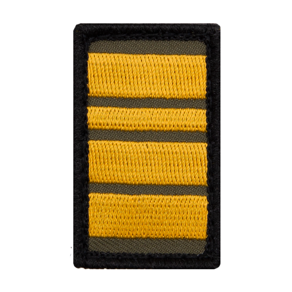 Fregattenkapitän Mini Dienstgrad Patch