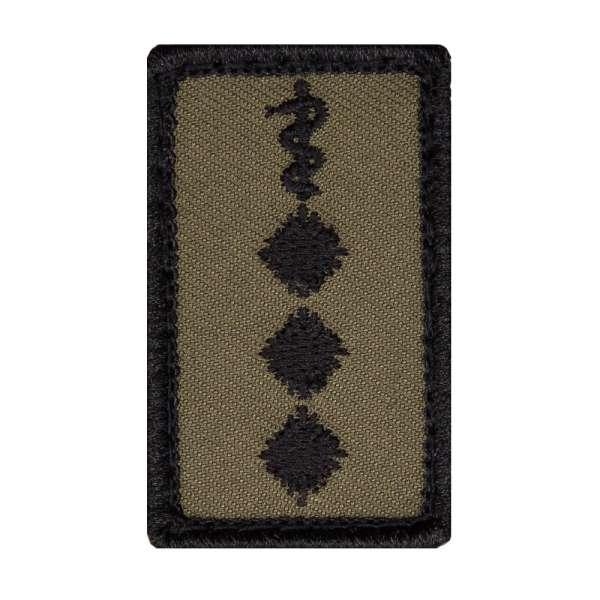 Stabsarzt Heer Mini Dienstgradabzeichen Patch