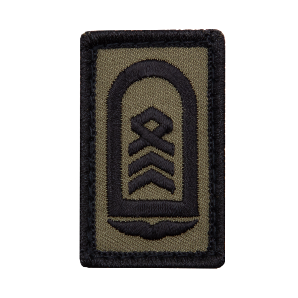 Oberstabsfeldwebel Luftwaffe Mini Dienstgradabzeichen Patch