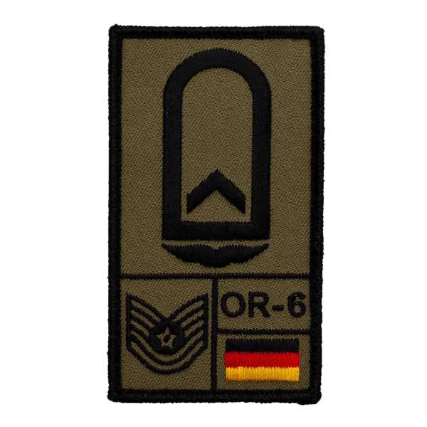 Feldwebel Luftwaffe Rank Patch