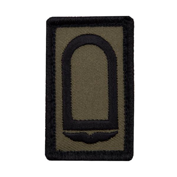 Stabsunteroffizier Luftwaffe Mini Dienstgradabzeichen Patch