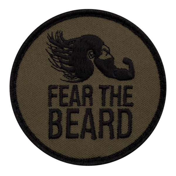 Fear the beard Patch