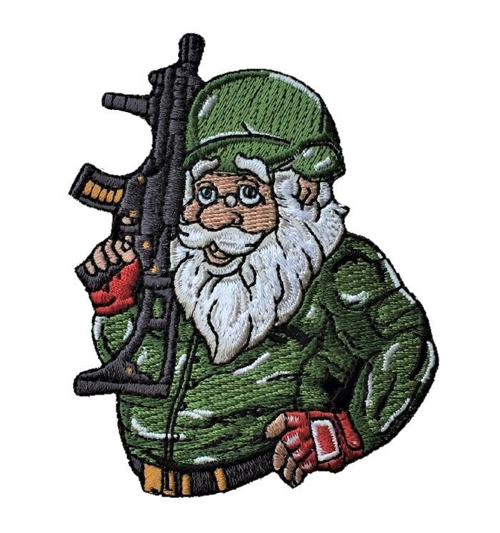 """Küchenschürze /""""Weihnachtsmann/"""" Weihnachten Plätzchen backen"""