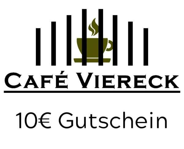 Café Viereck Geschenkgutschein