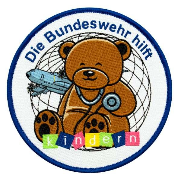Die Bundeswehr hilft Kindern weltweit e.V. Spendenpatch