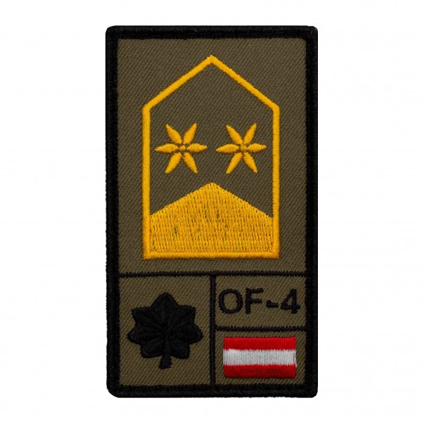 Oberstleutnant Bundesheer Rank Patch