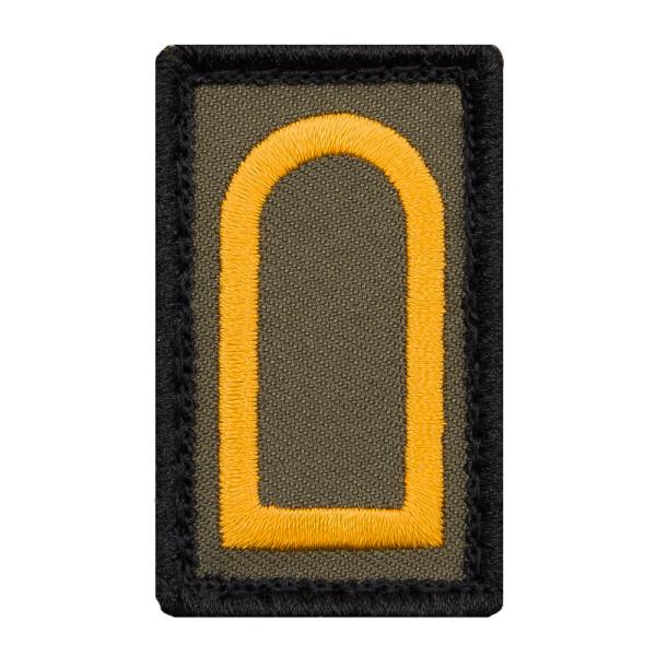 Obermaat Mini Dienstgradabzeichen Patch