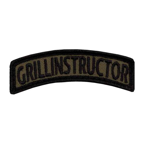 Grill Instructor TAB Patch