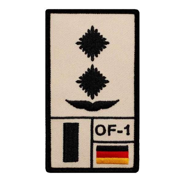 Oberleutnant Luftwaffe Rank Patch