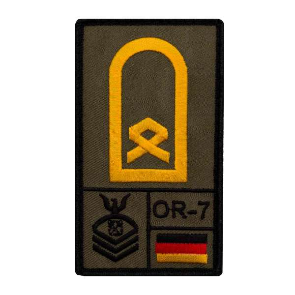 Hauptbootsmann Rank Patch