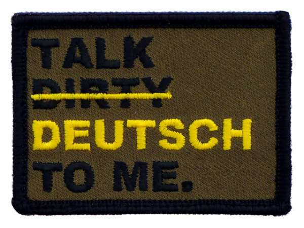 Talk Dirty Patch