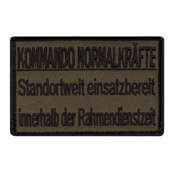 Kommando Normal Kräfte Patch