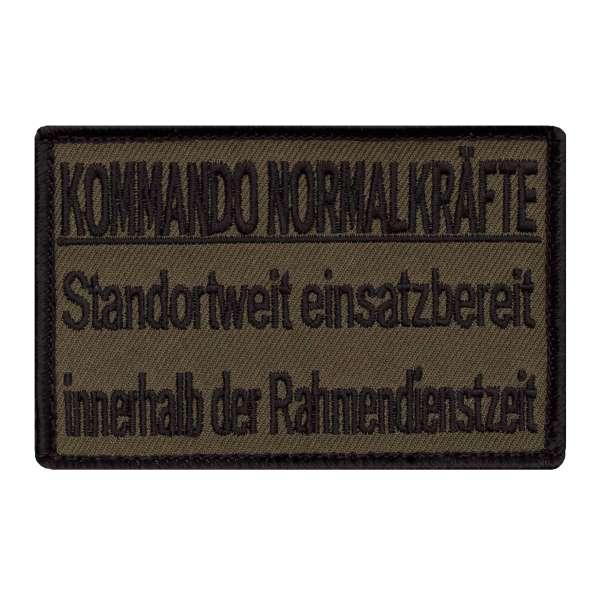 Kommando Normalkräfte Patch