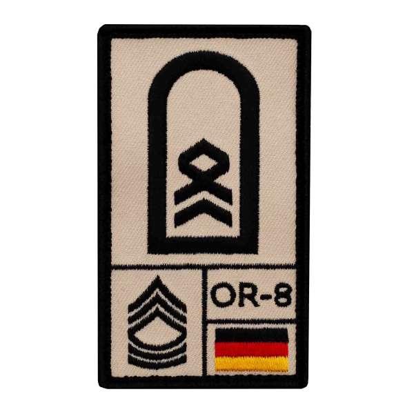 Stabsfeldwebel Rank Patch